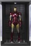 Marvel Iron Man Mark VI S.H.Figuarts Action Figure with Hall of Armor Set