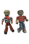Walking Dead Minimates Series 2 Sailor Zombie and Leg Bite Zombie 2-Pack