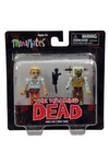 Walking Dead Minimates Series 2 Andrea and Stabbed Zombie 2-Pack