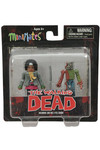 Walking Dead Minimates Series 2 Michonne and One-Eyed Zombie 2-Pack