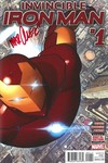 Invincible Iron Man #1 (Marquez Signed Edition)