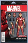 Invincible Iron Man #1 (Christopher Action Figure Variant Cover Edition)