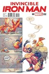 Invincible Iron Man #1 (Putri Party Variant Cover Edition)