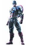 Marvel Comics Variant Play Arts Kai Captain America Action Figure