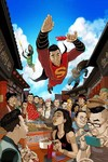 New Super Man #2 (Chang Variant Cover Edition)