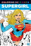 Coloring DC Supergirl TPB