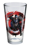 Toon Tumblers Captain America 3 Black Panther Pint Glass