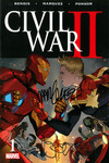 Civil War II #1 (of 6) (Bendis & Marquez Signed Edition)