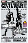 SDCC 2016 Exclusive Civil War II #1 (of 8) (Cho Black & White Variant Cover Edition)