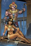 Grimm Fairy Tales Van Helsing vs. The Mummy Of Amun Ra #5 (of 5) (Cover C - Meloni)
