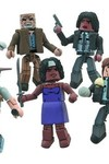 Walking Dead Minimates Series 6 Carl Grimes and Burning Zombie