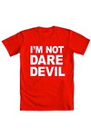 Daredevil Not Daredevil Red T-Shirt XL