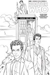 Doctor Who Supremacy Of The Cybermen #1 (of 5) (Coloring Book)