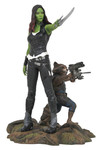 Marvel Gallery Guardians of the Galaxy 2 Gamora & Rocket Racoon Pvc Figure