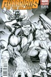 Guardians of the Galaxy #11 (Keown Sketch Variant Cover Edition)