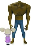 Batman Animated New Batman Adventures Killer Croc With Baby Doll Action Figure
