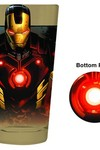 Iron Man Bottom Print Pint Glass