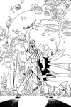 Martian Manhunter #8 (Adult Coloring Book Variant Edition)