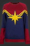 Captain Marvel Knit Sweater XL