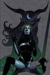 Tarot Witch of the Black Rose #102