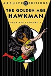 DC Archives - Golden Age Hawkman HC Vol. 1