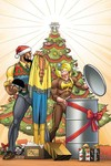 Power Man and Iron Fist Sweet Christmas Annual #1 (Von Eeden Variant Cover Edition)