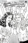 Wonder Woman Bionic Woman 77 #1 (of 6) (Cover D - Coloring Book)