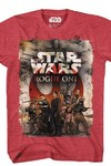 Star Wars Team One Red/blk Confetti T-Shirt MED