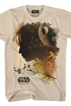 Star Wars Rogue Water Colors Sand T-Shirt MED