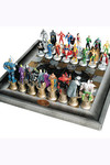 DC Chess Coll The Complete Justice League Set