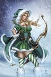 Grimm Fairy Tales 2015 Robyn Hood Holiday Special (Cover C - Dooney)
