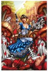 Grimm Fairy Tales Steampunk Alice In Wonderland (Cover D - Luis)