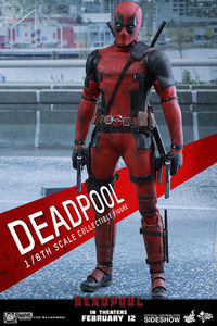 Hot Toys Deadpool Movie Masterpiece 1/6 Scale Figure