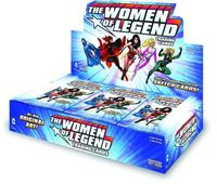 DC Women Of Legend Trading Card Box