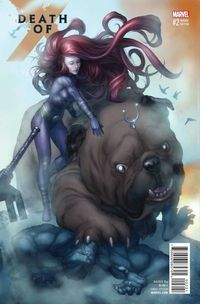 Death of X #2 (of 4) (Connecting B Variant Cover Edition)
