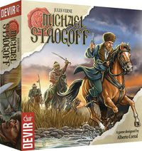 Jules Verne Michael Strogoff Board Game