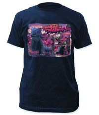 Godzilla Scream City Previews Exclusive Navy T-Shirt XL