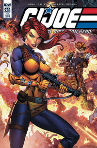 G.I. Joe A Real American Hero #238 (Subscription Variant)