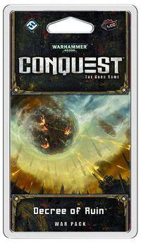 Wh40k Conquest Lcg Decree Of Ruin War Exp