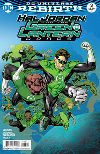 Hal Jordan And The Green Lantern Corps #3 (Nowlan Variant Cover Edition)