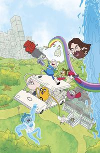 Adventure Time Regular Show #1