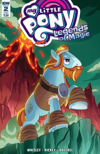 My Little Pony Legends Of Magic #2 (Subscription Variant)