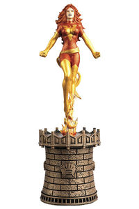 Marvel Chess Figure Coll Mag #54 Dark Phoenix Black Queen