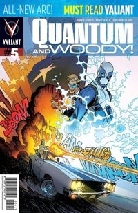 Quantum & Woody #5 (Regular Robinson)