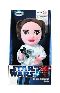 Star Wars Princess Leia Medium Talking Plush