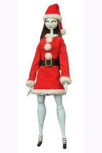 Nbx Santa Sally Coffin Unltd Doll