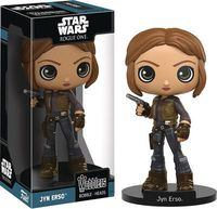 Star Wars Rogue One Jyn Erso Wobbler