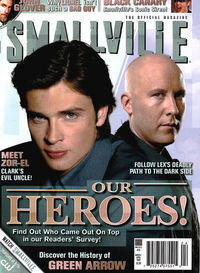 Smallville Magazine Newsstand Ed #25