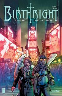 Birthright #14 comic book review at TFAW.com