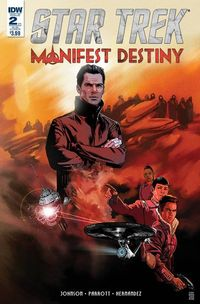 Star Trek Manifest Destiny #2 Subscription Variant